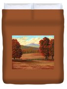 Autumn Pastures Duvet Cover
