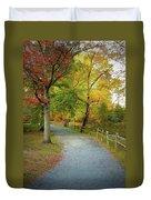 Autumn Path II Duvet Cover
