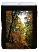 Autumn Path Duvet Cover