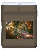 Autumn Path Duvet Cover