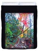 Autumn Pathway Duvet Cover