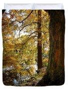 Autumn Perspective Duvet Cover