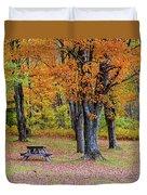 Autumn Picnic Duvet Cover