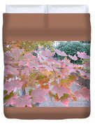 Autumn Pink Duvet Cover