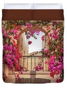 autumn plants and garden in Portugal Algarve Duvet Cover by Ariadna De Raadt