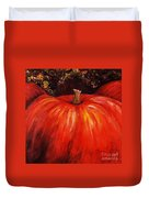 Autumn Pumpkins Duvet Cover