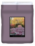 Autumn Purple Duvet Cover