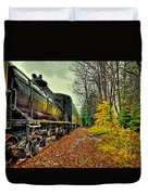 Autumn Railway Duvet Cover