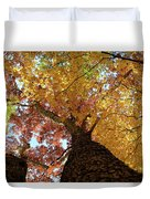 Autumn Rainbow Duvet Cover