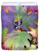 Autumn Rainbows Duvet Cover
