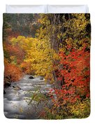Autumn Rapids Duvet Cover