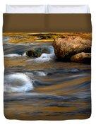 Autumn Rapids Duvet Cover