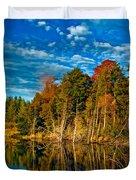 Autumn Reflection II Duvet Cover