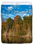 Autumn Reflection Duvet Cover