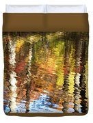 Autumn Reflections-3 Duvet Cover