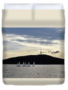 Autumn Regatta Duvet Cover