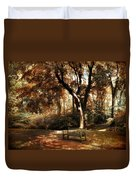 Autumn Repose Duvet Cover by Jessica Jenney