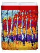 Autumn Riches Duvet Cover