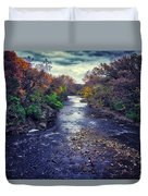 Autumn Riders On The Storm Duvet Cover
