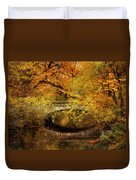 Autumn River Views Duvet Cover