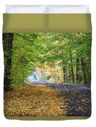 Autumn Road 2 Duvet Cover