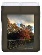 Autumn Rust Duvet Cover