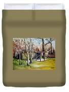 Autumn Shed Duvet Cover