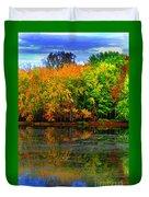 Autumn Sings Duvet Cover