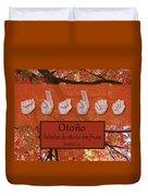 Autumn Spanish Duvet Cover