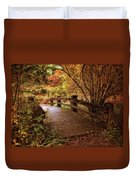 Autumn Splendor Bridge Duvet Cover