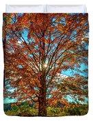 Autumn Star- Paint Duvet Cover