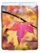 Autumn Still Duvet Cover