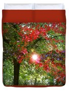 Autumn Sun Duvet Cover