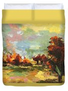Autumn Sunlight Duvet Cover