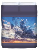 Autumn Sunrise - Lyme Regis Duvet Cover