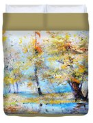 Autumn Tenderness Duvet Cover