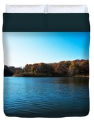 Autumn The In Loess Hills Duvet Cover