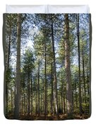 Autumn Tranquil Forest Duvet Cover