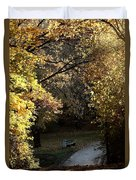 Autumn Trees 3 Duvet Cover