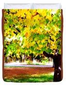 Autumn Trees 6 Duvet Cover