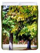 Autumn Trees 7 Duvet Cover