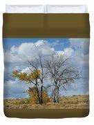 Autumn Trees II Duvet Cover