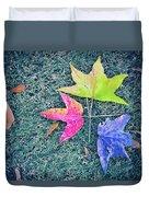 Autumn Trio Duvet Cover