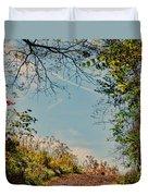 Autumn Up Hill Duvet Cover