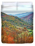 Autumn Valley Duvet Cover
