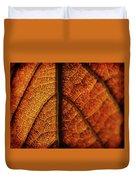 Autumn Veins Duvet Cover