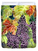 Autumn Vineyard In Its Glory - Batik Style Duvet Cover