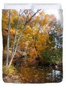 Autumn Vintage Landscape 5 Duvet Cover