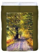 Autumn Walk Duvet Cover