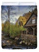 Autumn Water Wheel Duvet Cover